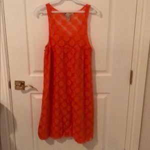 Orange coverup or sundress by American Rag Life